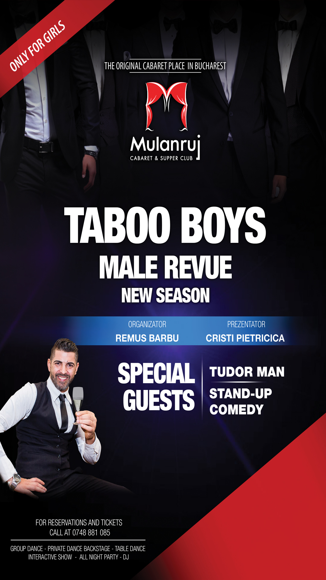 Male Cabaret by Taboo Boys