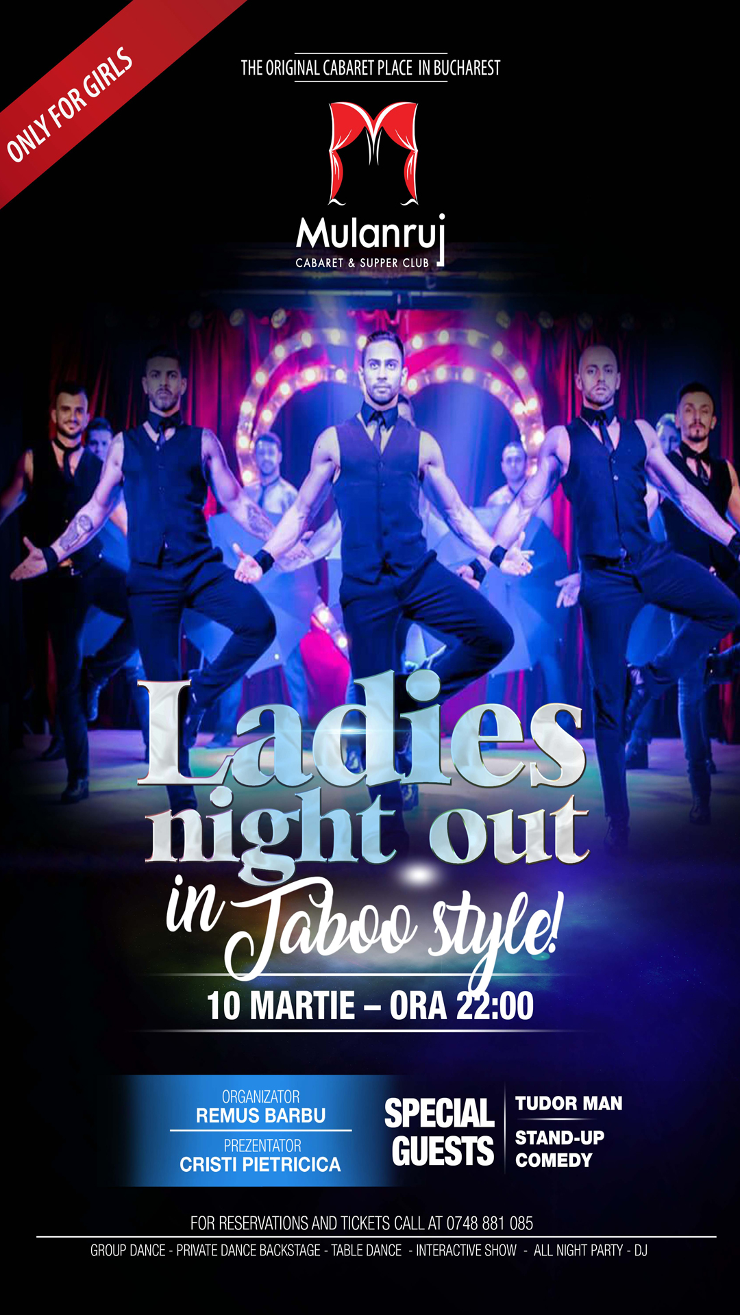 Ladies night out in Taboo Style !