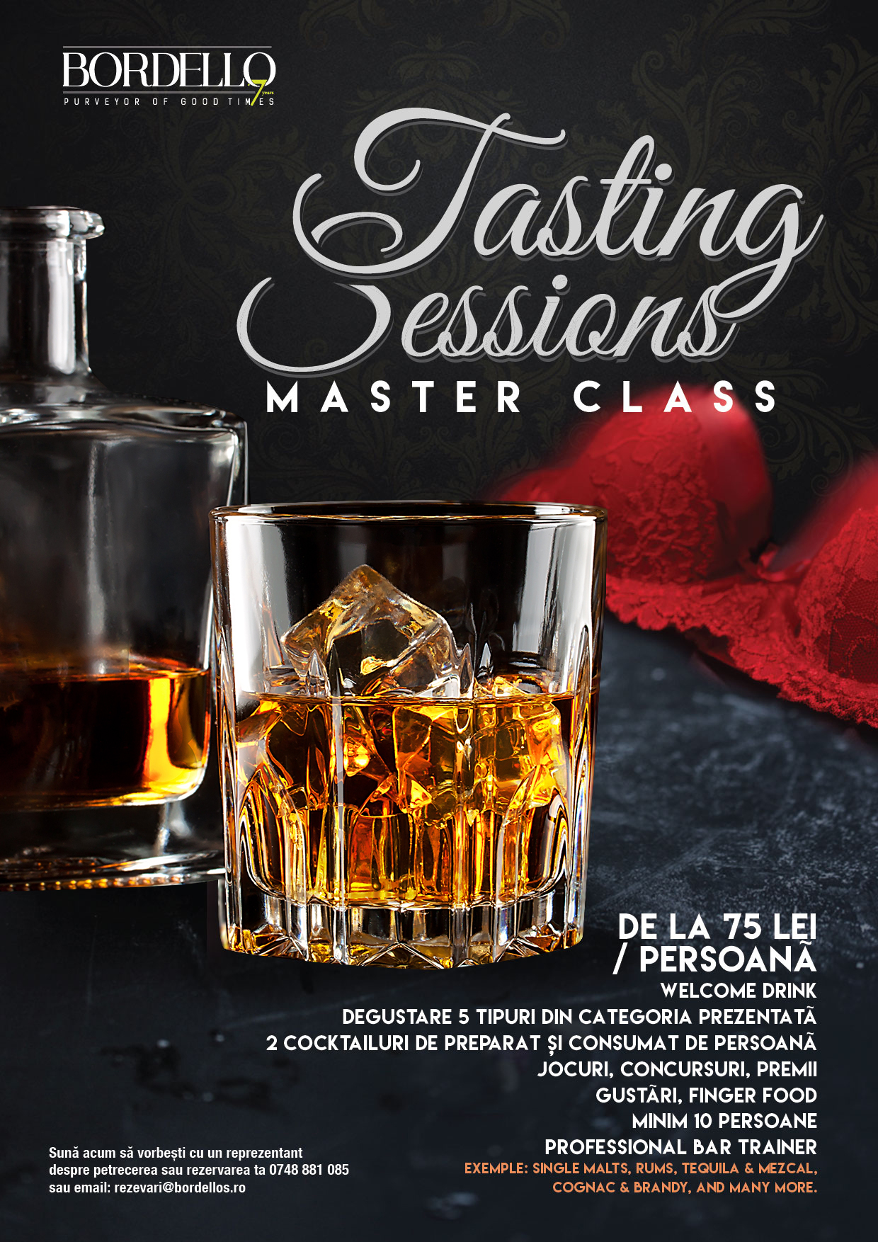 Tasting Sessions