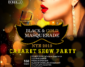 Black & Gold Masquerade – NYE 2019 Cabaret Show Party